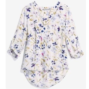 Stitch Fix l Daniel Rainn Koda Split Neck Blouse